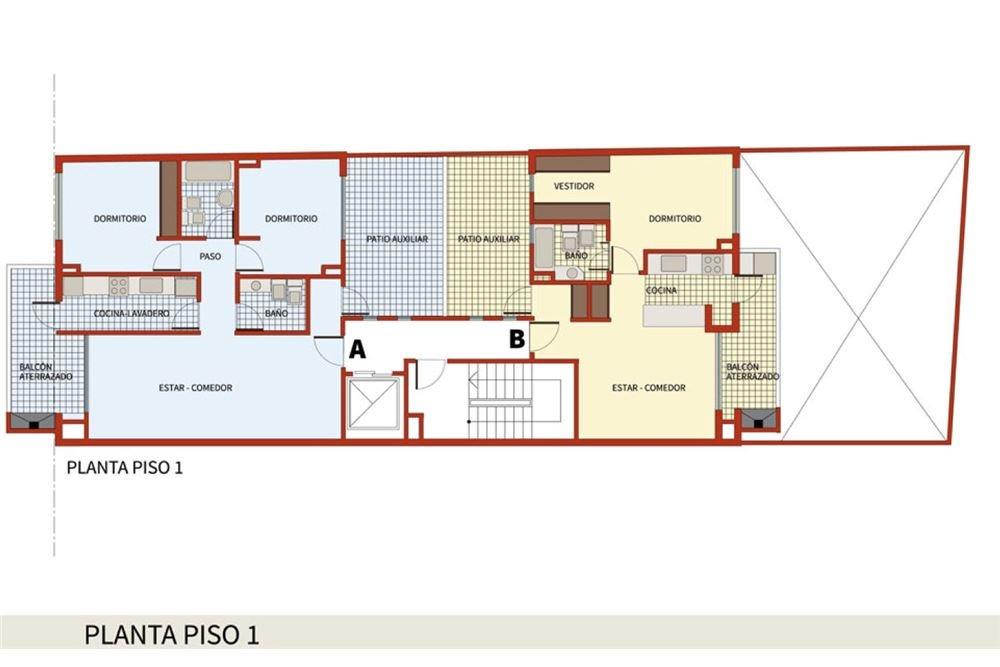 departamento- venta belgrano 3 ambientes-parrilla