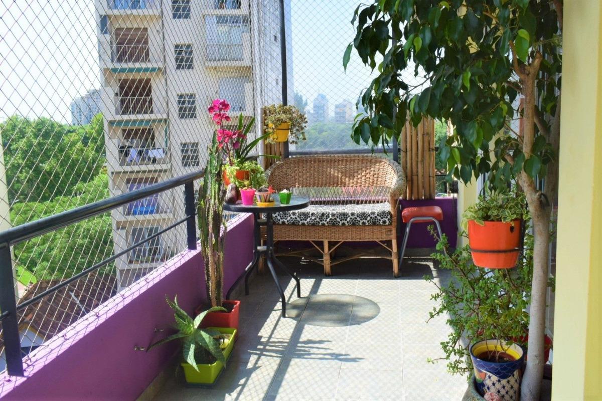 departamento venta caballito 3 amb balcon con vista abierta