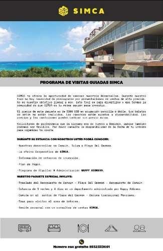 departamento venta costa caribe, tulum, qr.