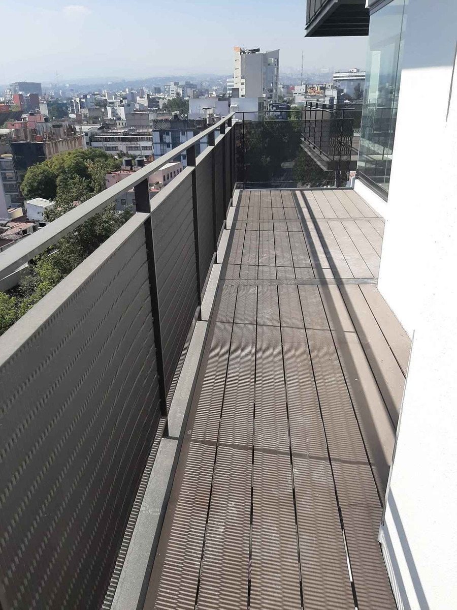 departamento venta o renta para estrenar con balcón en nápoles