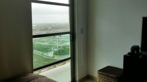 departamento venta remodelado vista al mar en puerto cancun
