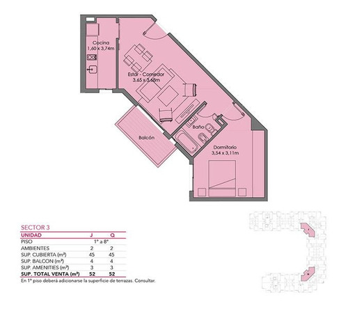 departamento - villa del parque