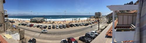 departamento viña del mar playa reñaca frente al mar