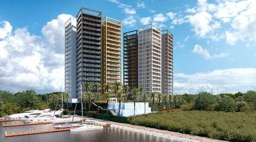 departamento x towers deluxe puerto cancún
