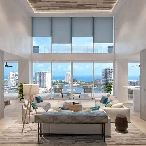 departamento x towers duplex puerto cancún