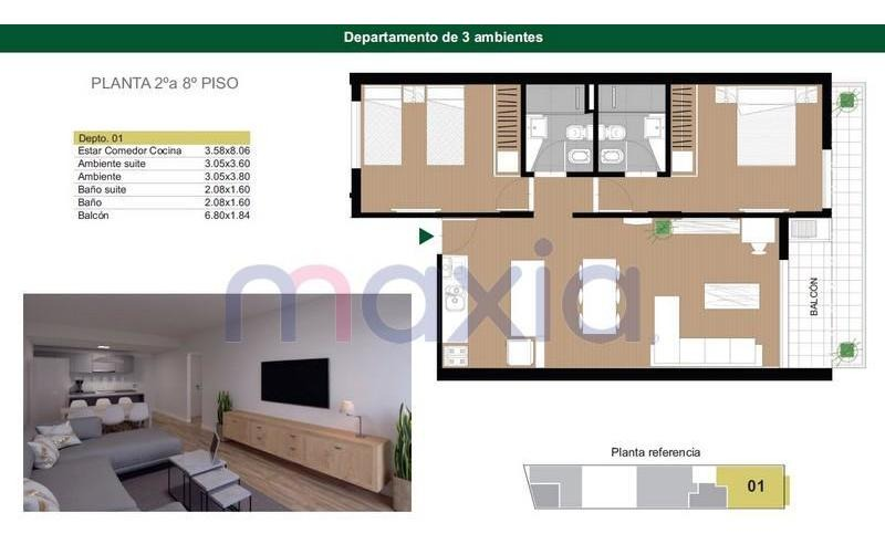 departamento - zona centro