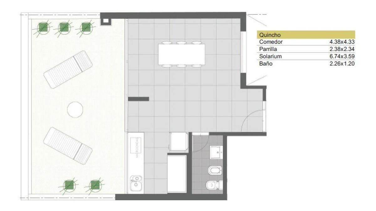 departamentos 2 dormitorios de pozo mendoza 2100