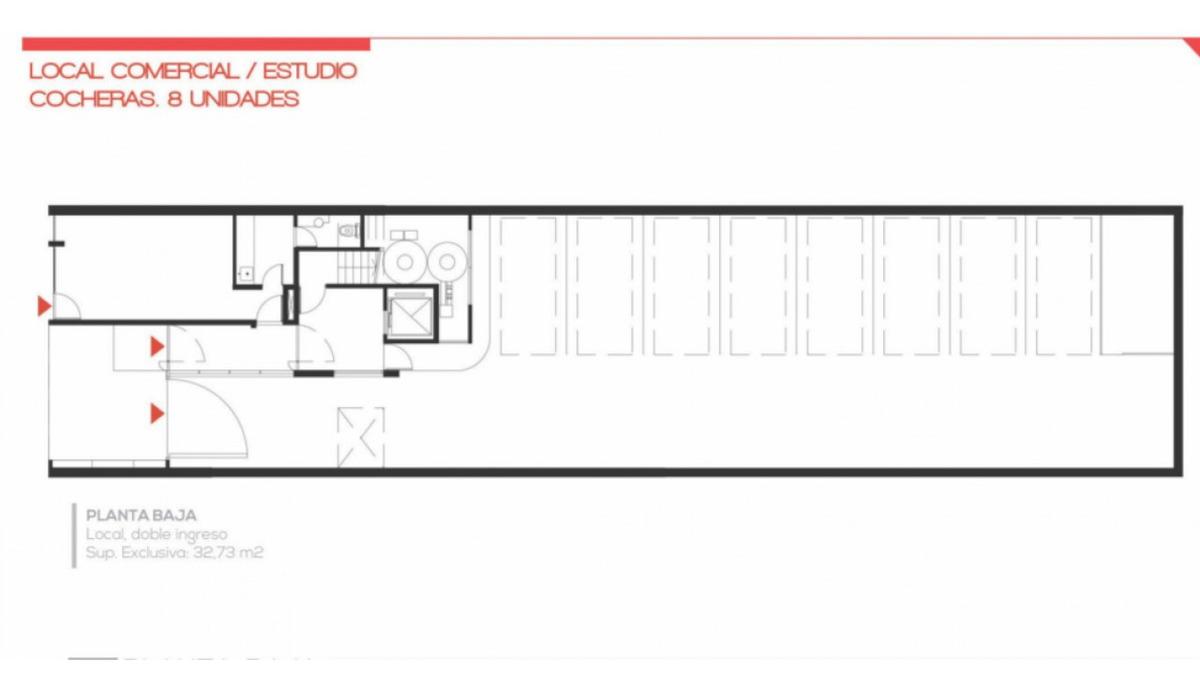 departamentos a la venta. colon 1939 rosario. unidad c  1° piso contrafrente. financiación