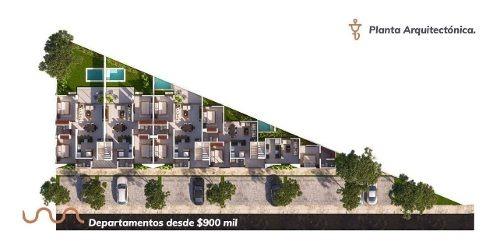 departamentos belia, montebello mérida con vista a plaza altabrisa