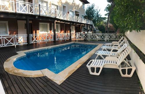 departamentos con piscina climatizada a 100 m de la playa