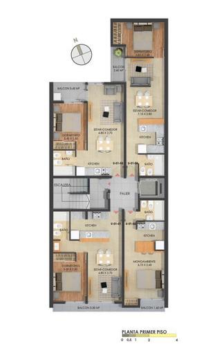 departamentos de 1 dormitorio - pichincha