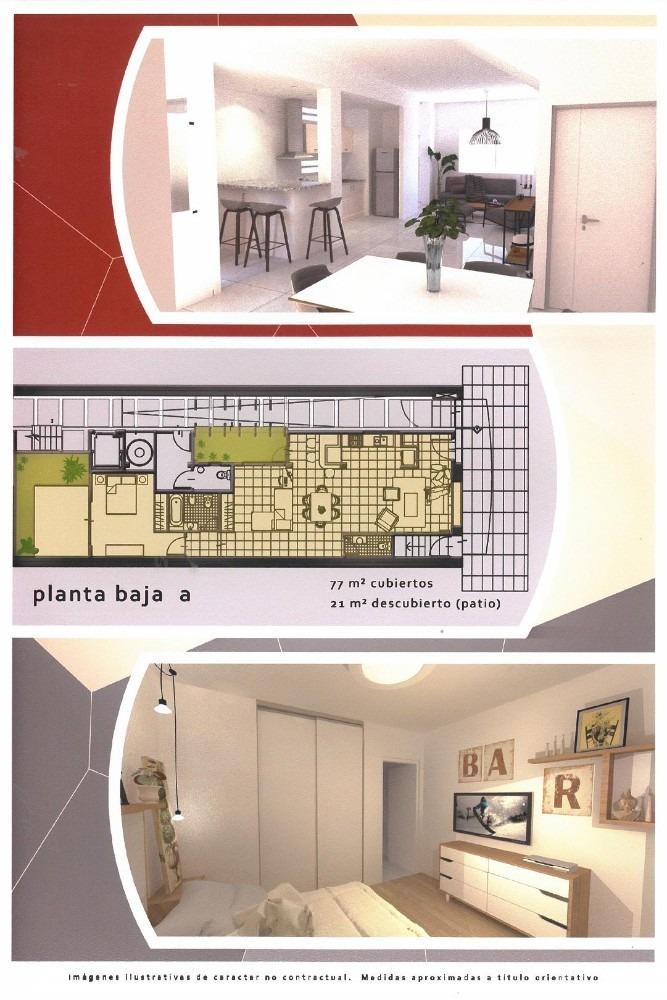 departamentos de 2, 3 y 4 ambientes tipo ph - impecables
