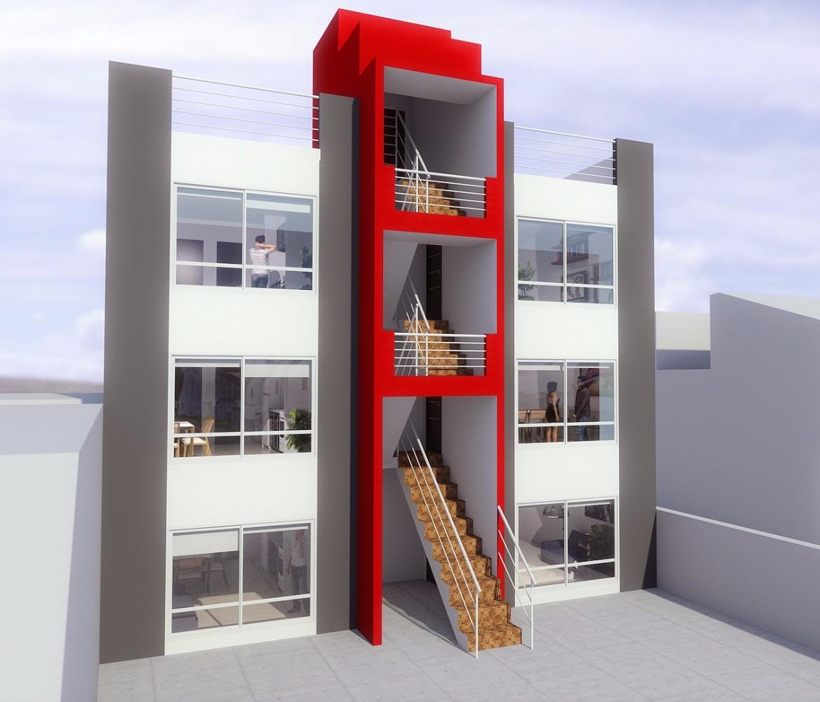 departamentos de 3 ambientes en construcción desde el pozo !