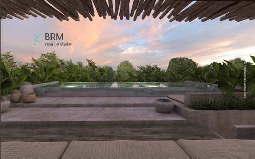 departamentos de confort, lujo y privacidad, ubicados en aldea zama con terraza