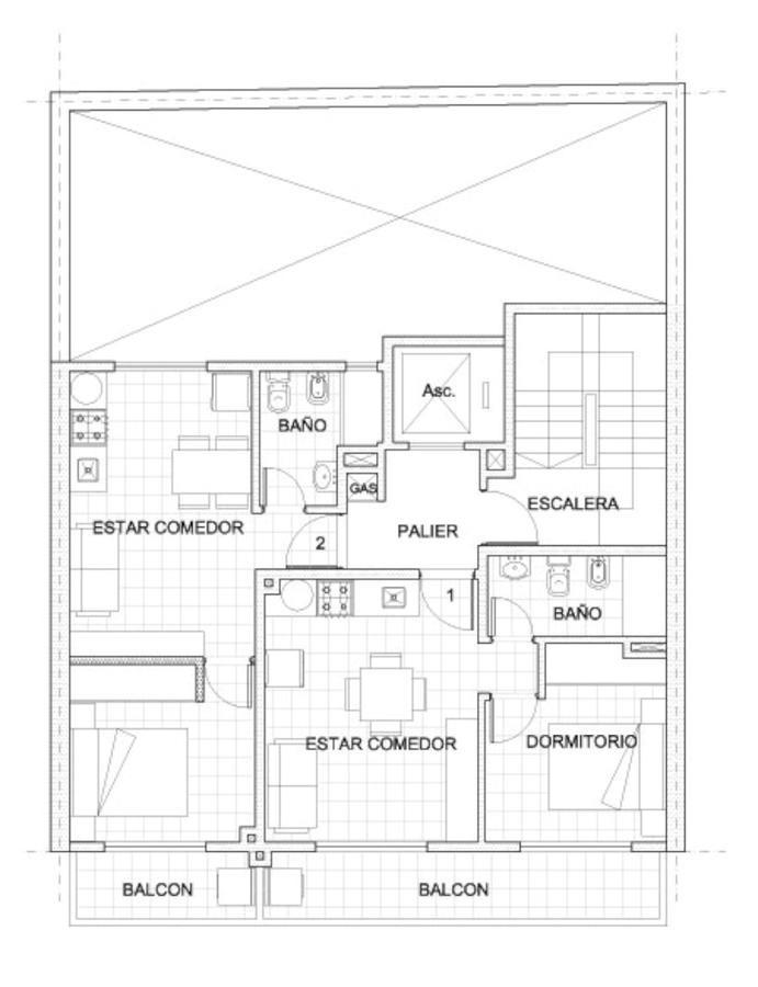 departamentos de inversión - echesortu - 1 dormitorio