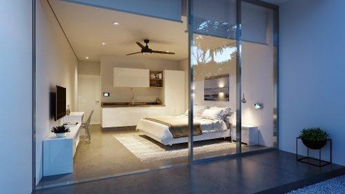 departamentos de lujo 1 habitación en tulum p2286