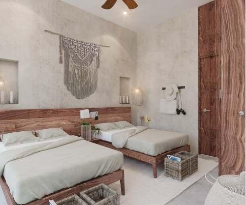 departamentos de lujo en venta, ubicados en tulum aldea zama, con retorno de inversión.  manor- mode