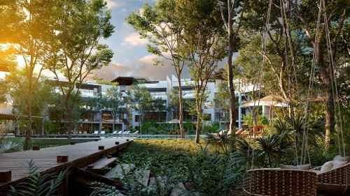 departamentos de lujo en venta, ubicados en tulum, con retorno de inversión.  yaaxlum