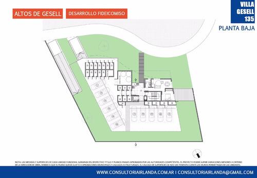 departamentos de pozo en villa gesell