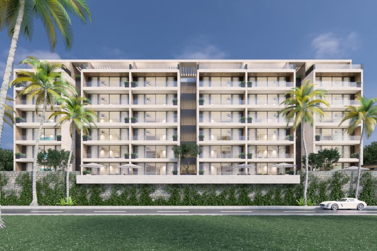 departamentos en olea beach condos ubicados en chicxulub (modelo 2)