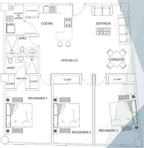 departamentos en venta edificio forjadores / san pedro cholula pue