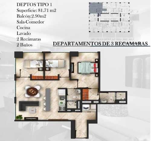 departamentos en venta en azcapotzalco ( avenida jardin )