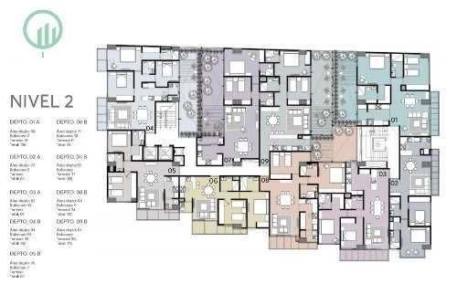 departamentos en venta en col. napoles (erav1757)