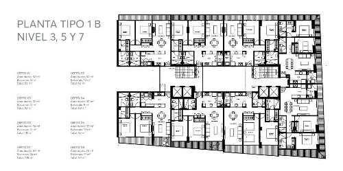 departamentos en venta en desarrollo nuevo en la col. narvarte pte, 124 m2