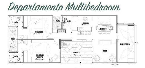 departamentos en venta miramar, chicxulub (multibedroom)