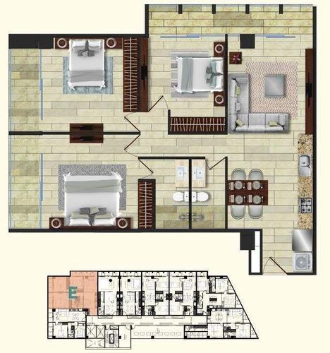 departamentos en venta nia tower (tipo a), villas la hacienda