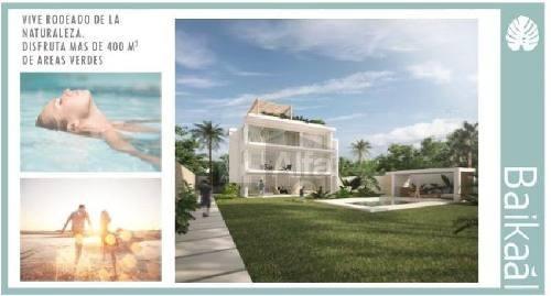 departamentos en venta, residencial baikaal cancún, quintana roo