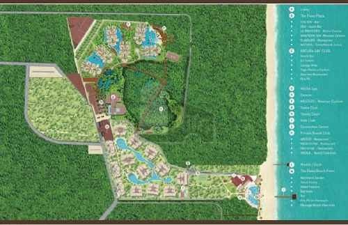 departamentos en venta the fives playa del carmen