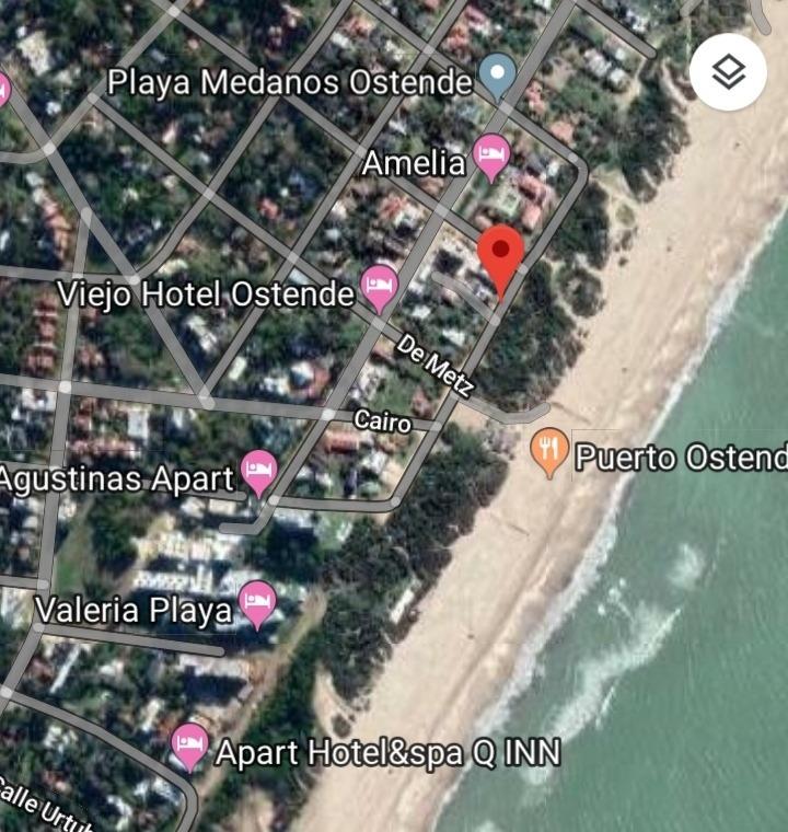 departamentos    frente al mar   ostende - pinamar
