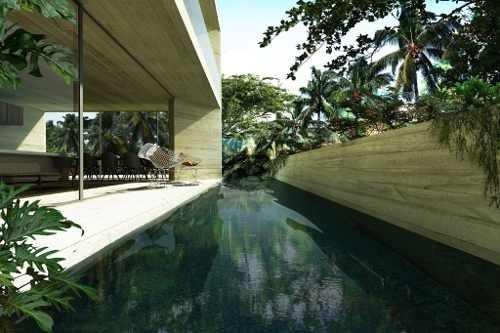 departamentos minimalistas de arquitectura sustentable en tulum p2481