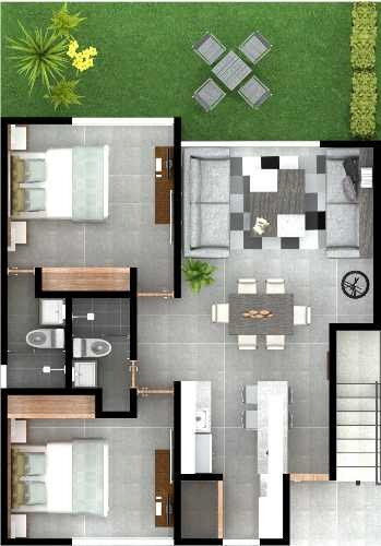 departamentos nuevos en planta baja, sendas residencial