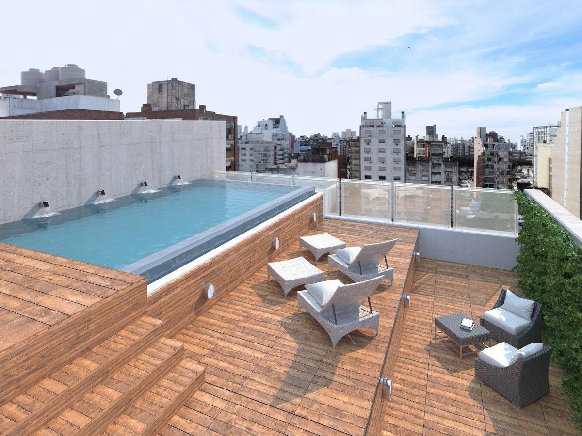 departamentos premium - 1 dormitorio - espacio comun de trabajo ideal para estudiantes o profesionales - piscina y quincho con vista panoramica