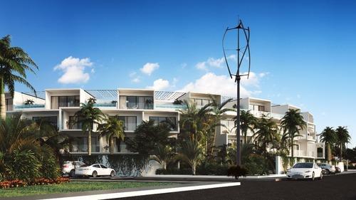 departamentos studio penthouse en central park lagunas - tulum
