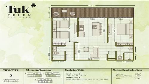 departamentos tipo estudio en venta tuk tulum quintana roo