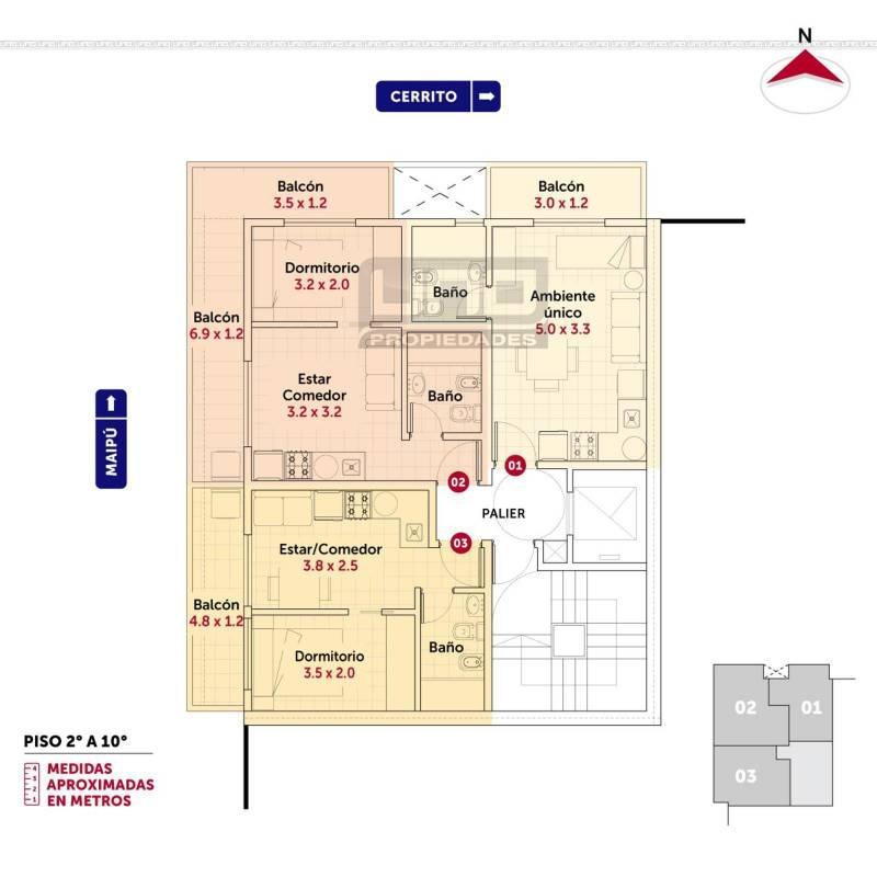 departamentos venta centro