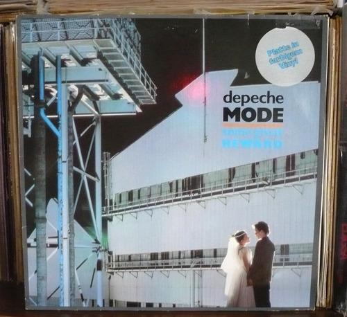 depeche mode lp color plateado some gerat reward imp aleman