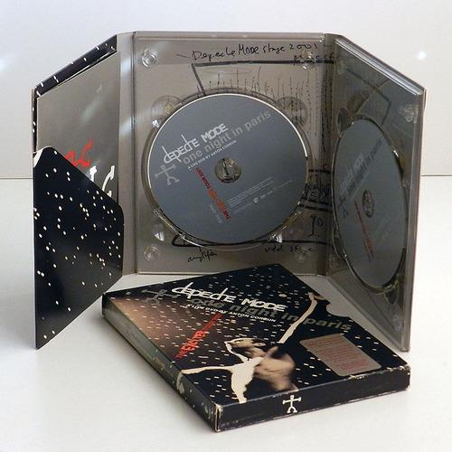depeche mode - one night in paris - dvd ee.uu. / synth-pop /