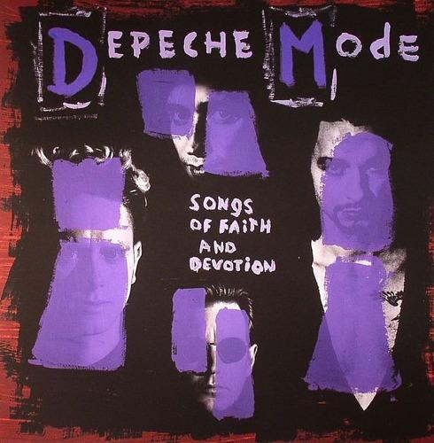 depeche mode - songs of faith & devotion,  180 g audiophile