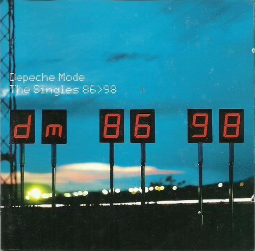 depeche mode the singles 86 - 98 - duplo