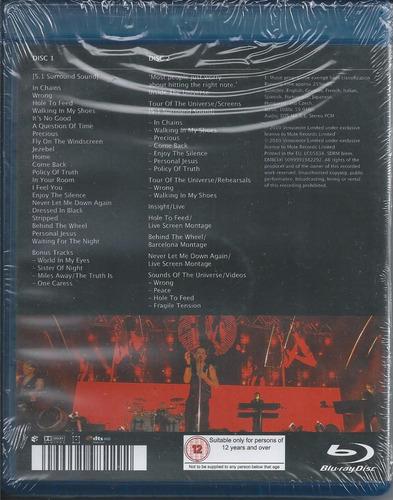 depeche mode tour of the universe: barcelona blu-ray env gra
