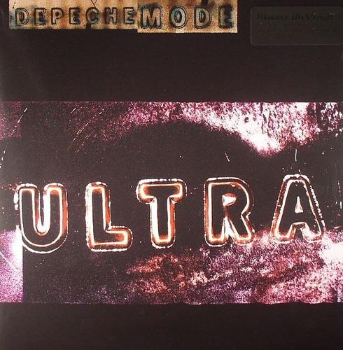 depeche mode - ultra,  gatefold 180 gram vinyl lp + insert