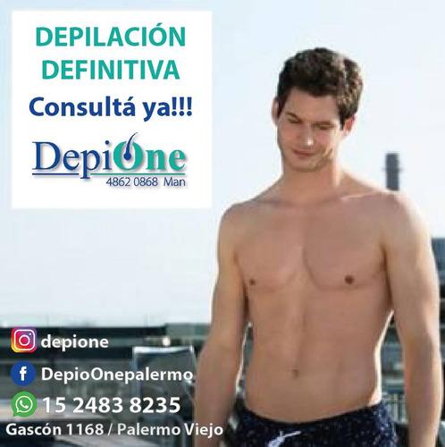 depilación definitiva masculina - promo verano 2019 !!!