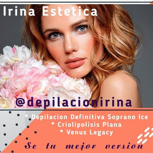 depilacion definitiva soprano ice/criolipólisis/venus legacy
