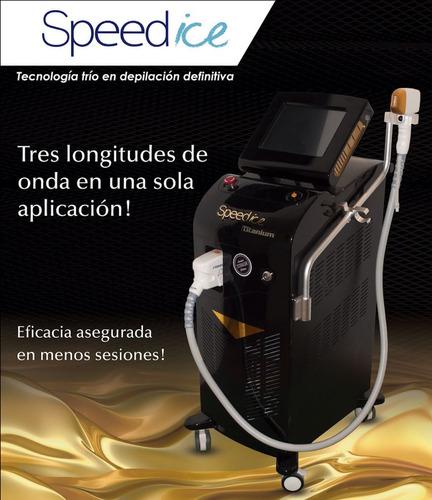 depilacion laser - speed ice titanium