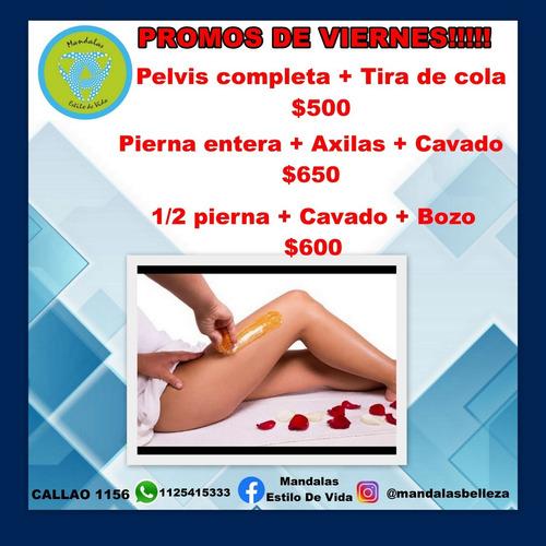 depilacion ,masajes y tratamientos  de estética. de