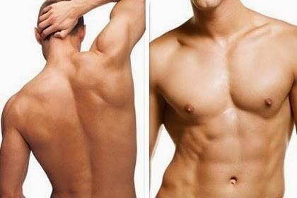 depilación masculina 100% profesional
